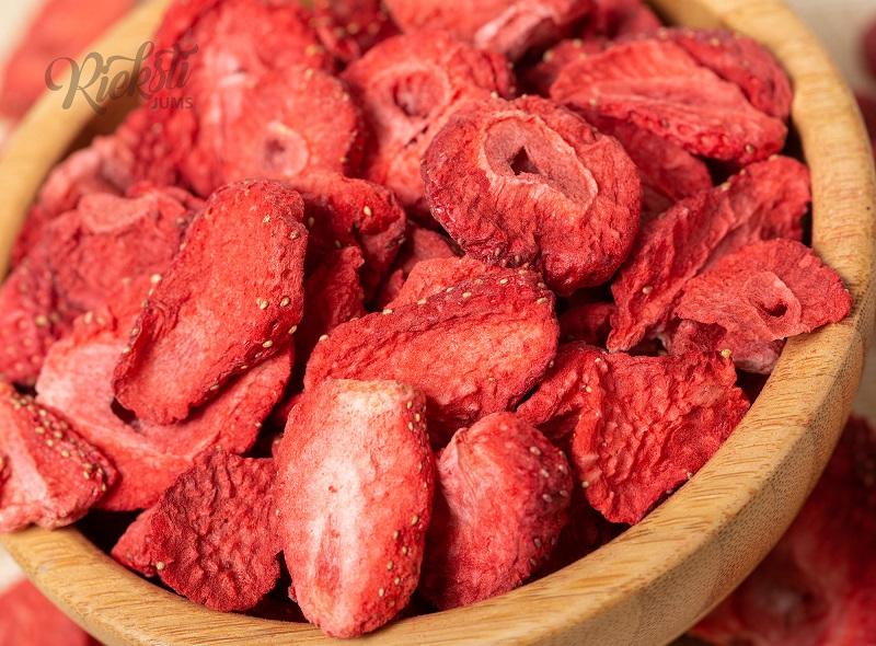 Liofilizētas (žāvētas aukstumā) zemenes 100 g