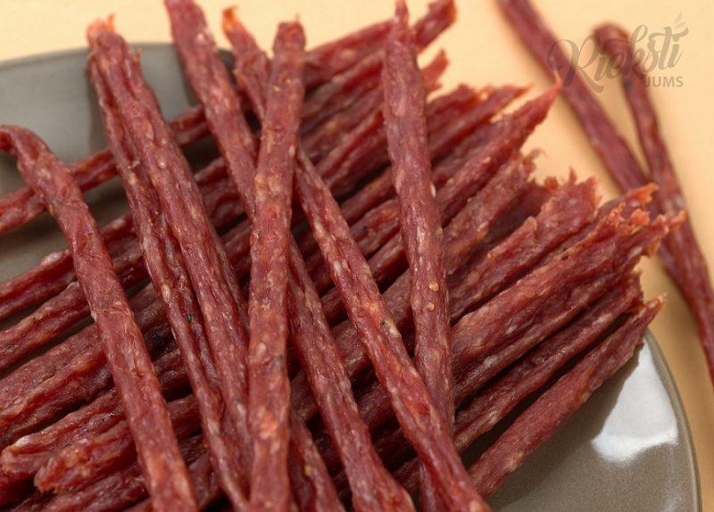 Соломки вяленой свинины 100 г