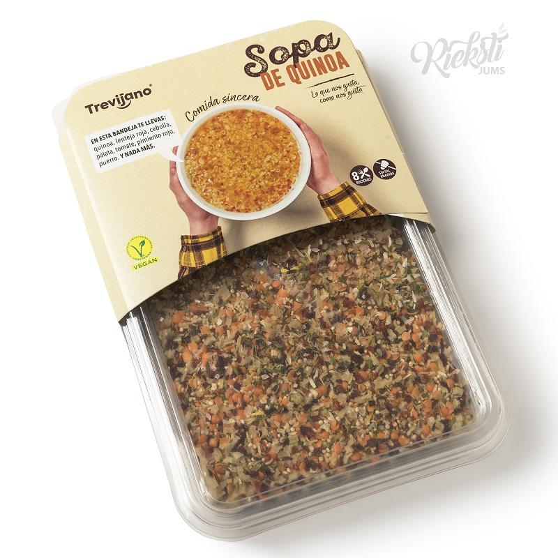 TREVIJANO Bolīvijas balandas (Kvinojas) zupas maisījums 200 g