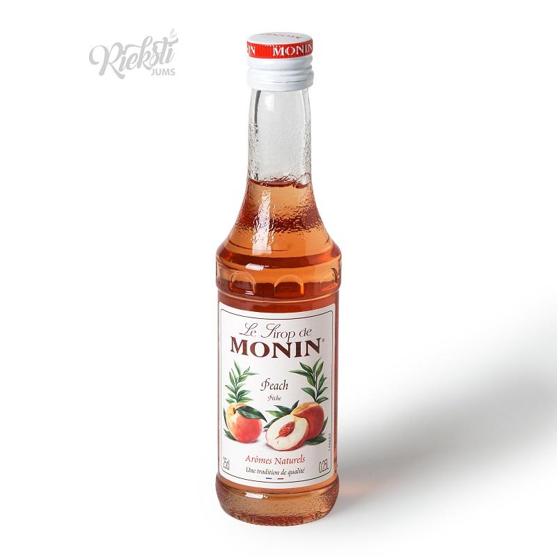 Persiku sīrups MONIN, 250 ml