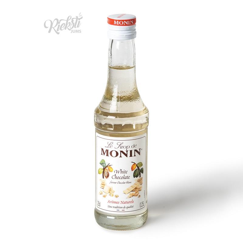 Baltās šokolādes sīrups MONIN, 250 ml