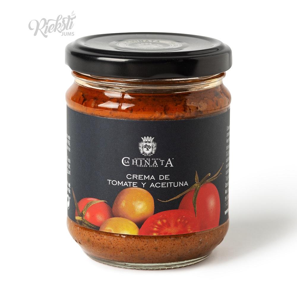 LA CHINATA tomātu un olīvu smērējamais krēms, 180 g