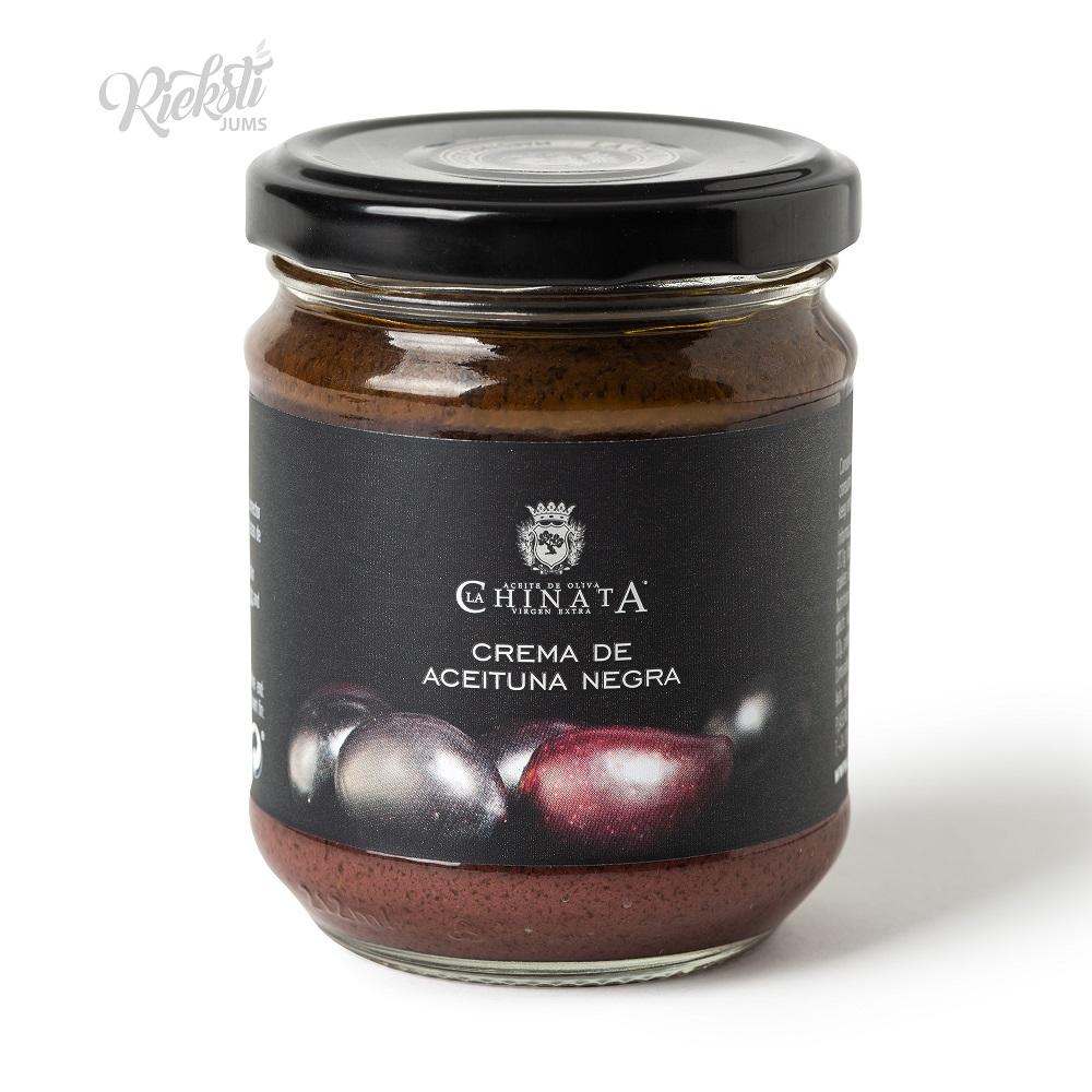 LA CHINATA melno olīvu smērējamais krēms, 180 g