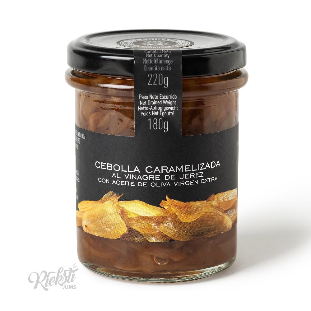 LA CHINATA karamelizēti sīpoli ar Chereso etiķi, 220 g
