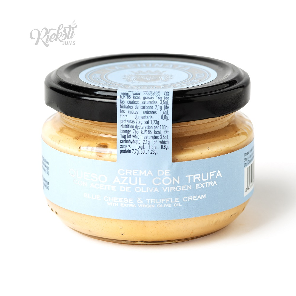 LA CHINATA zilā siera smērējamais krēms ar trifelēm, 125 g