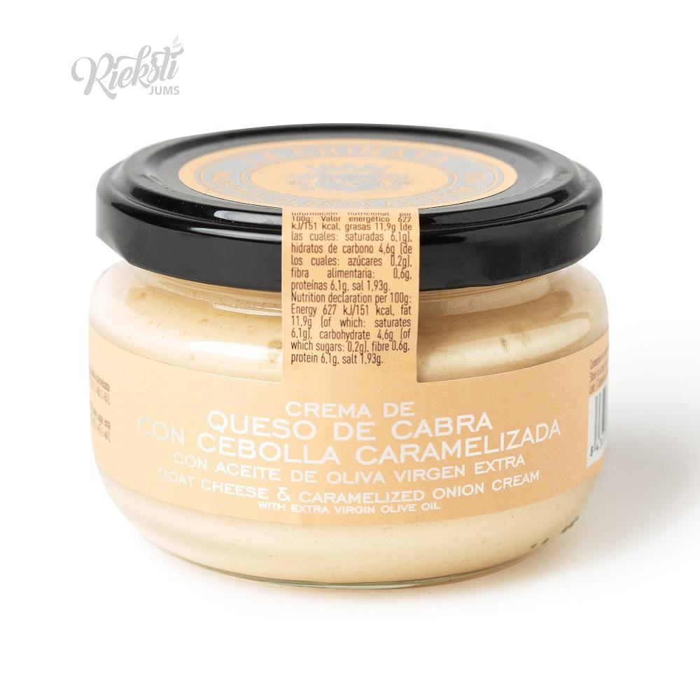LA CHINATA kazas siera smērējamais krēms ar karamelizētiem sīpoliem, 125 g
