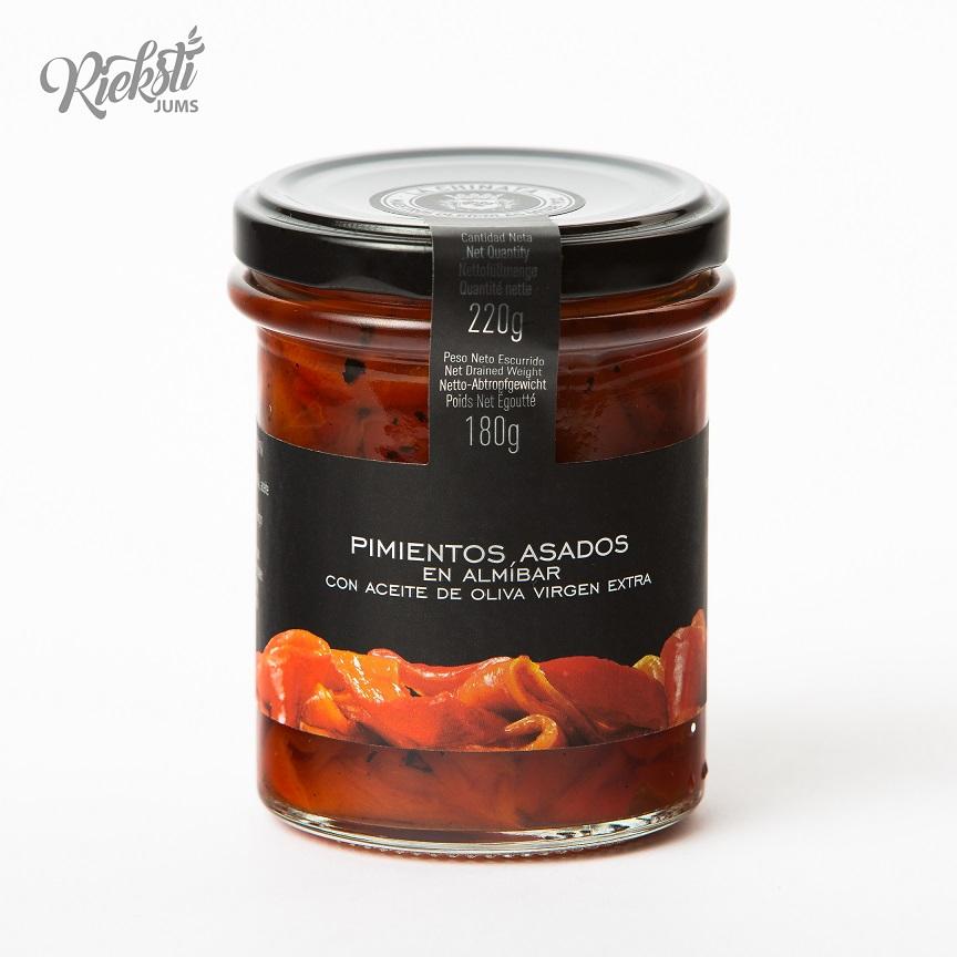 LA CHINATA cepta piprika sīrupā, 220 g