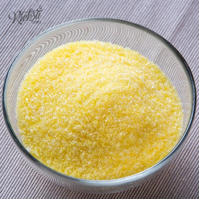 Krāsains cukurs, citronu garša, 1 kg